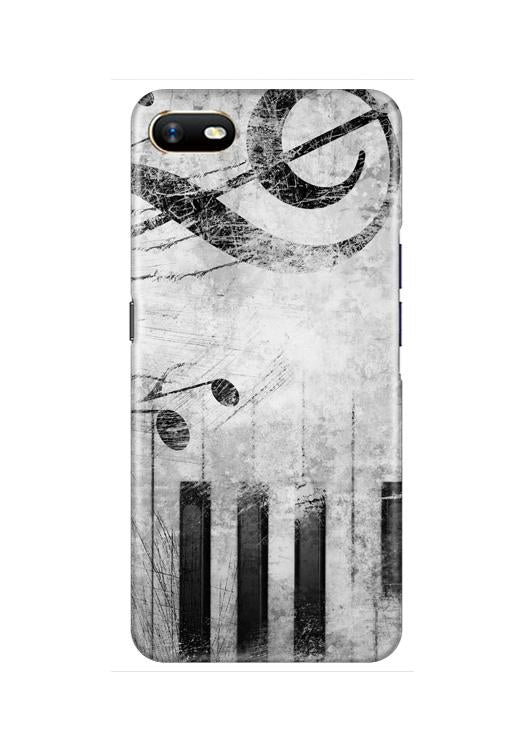 Music Mobile Back Case for Oppo A1K  (Design - 394)
