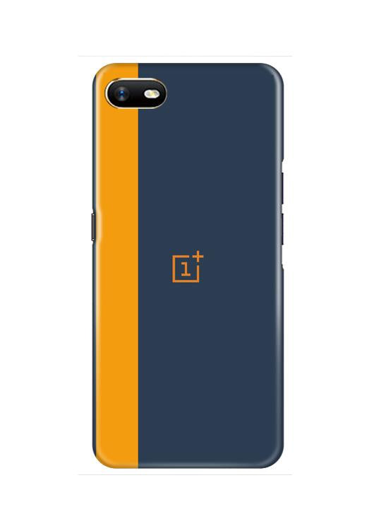 Oneplus Logo Mobile Back Case for Oppo A1K  (Design - 395)