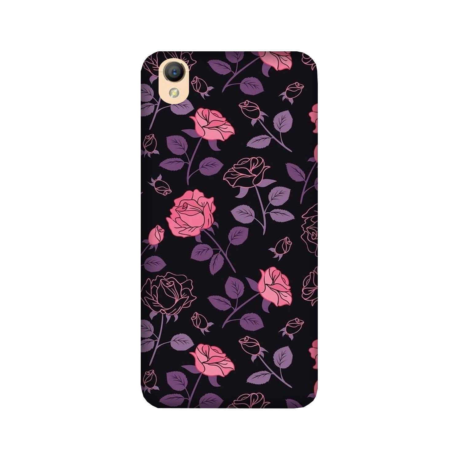 Rose Pattern Case for Oppo A37