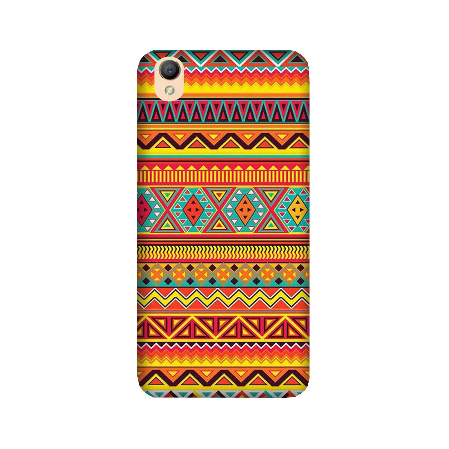 Zigzag line pattern Case for Oppo A37
