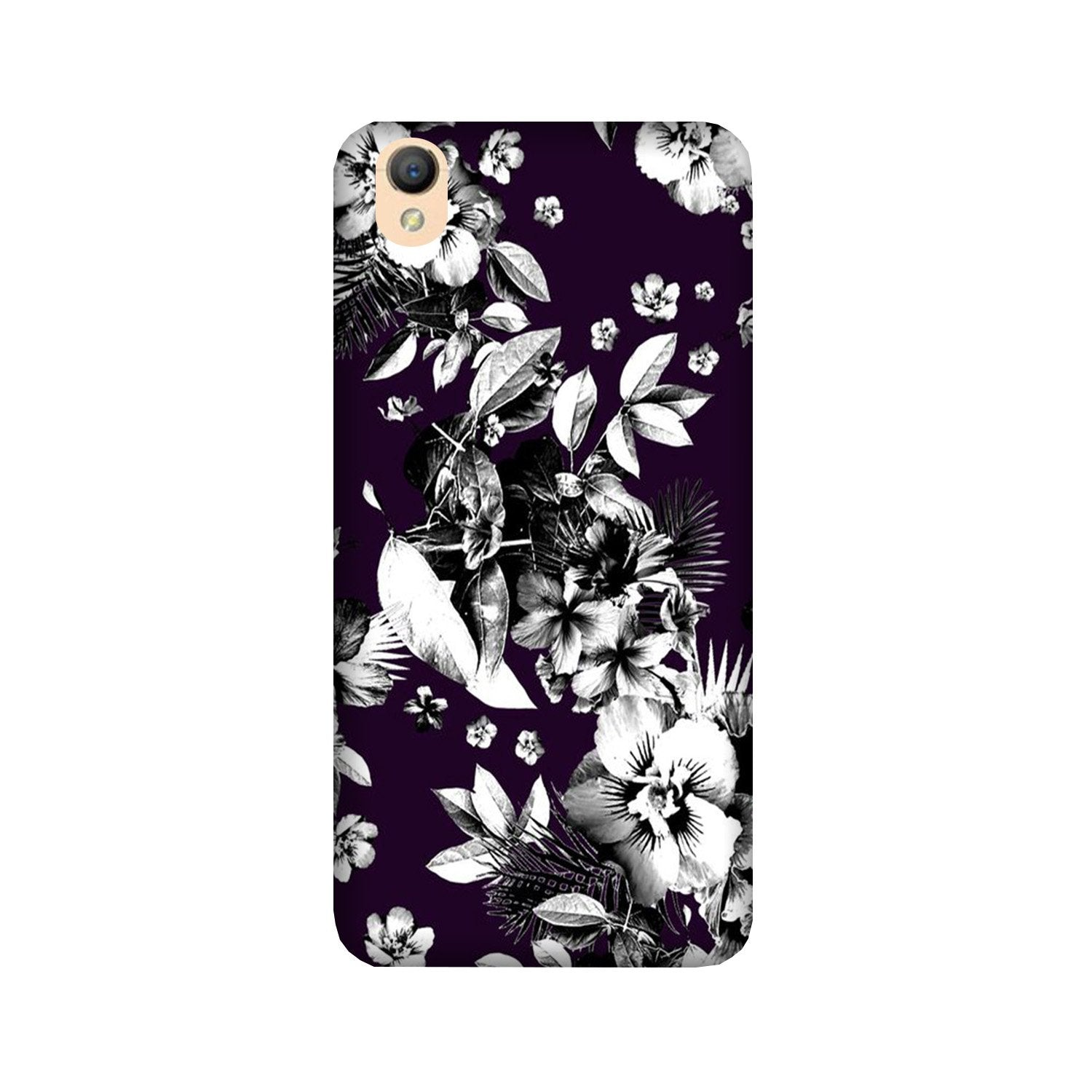 white flowers Case for Oppo A37