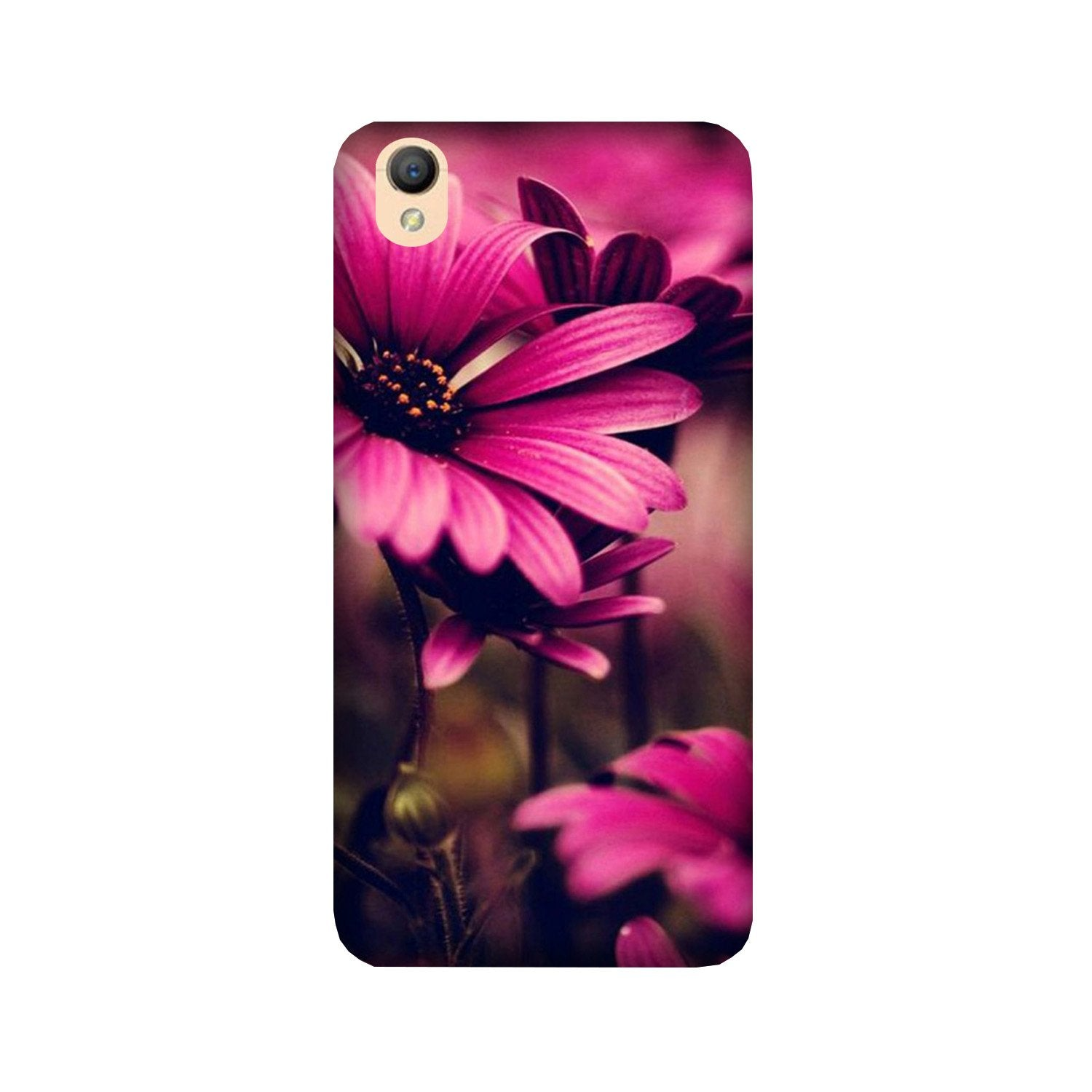 Purple Daisy Case for Oppo A37