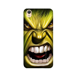 Hulk Superhero Case for Oppo A37  (Design - 121)