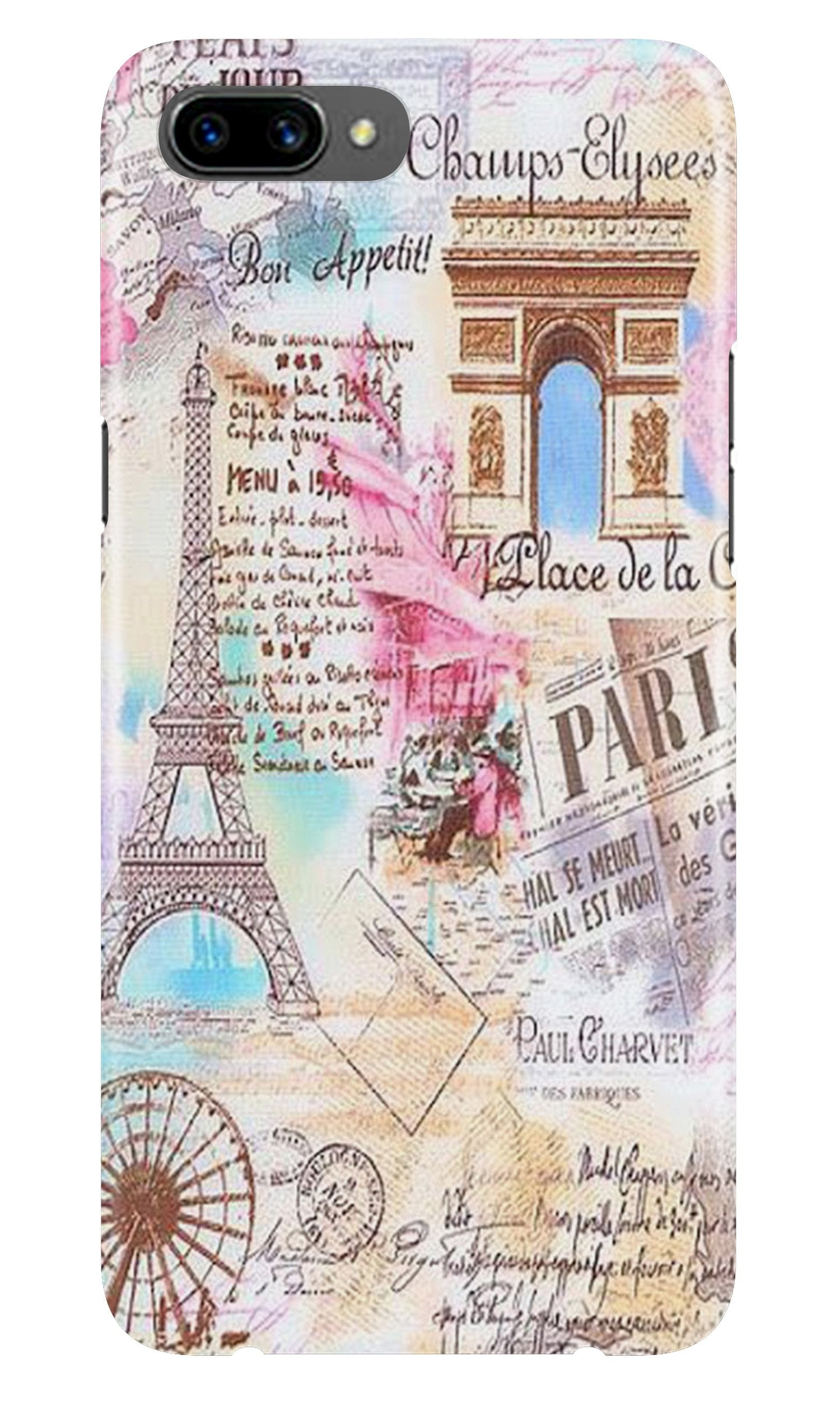 Paris Eiftel Tower Case for Oppo A3s