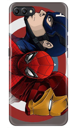 Superhero Mobile Back Case for Oppo K1  (Design - 311)