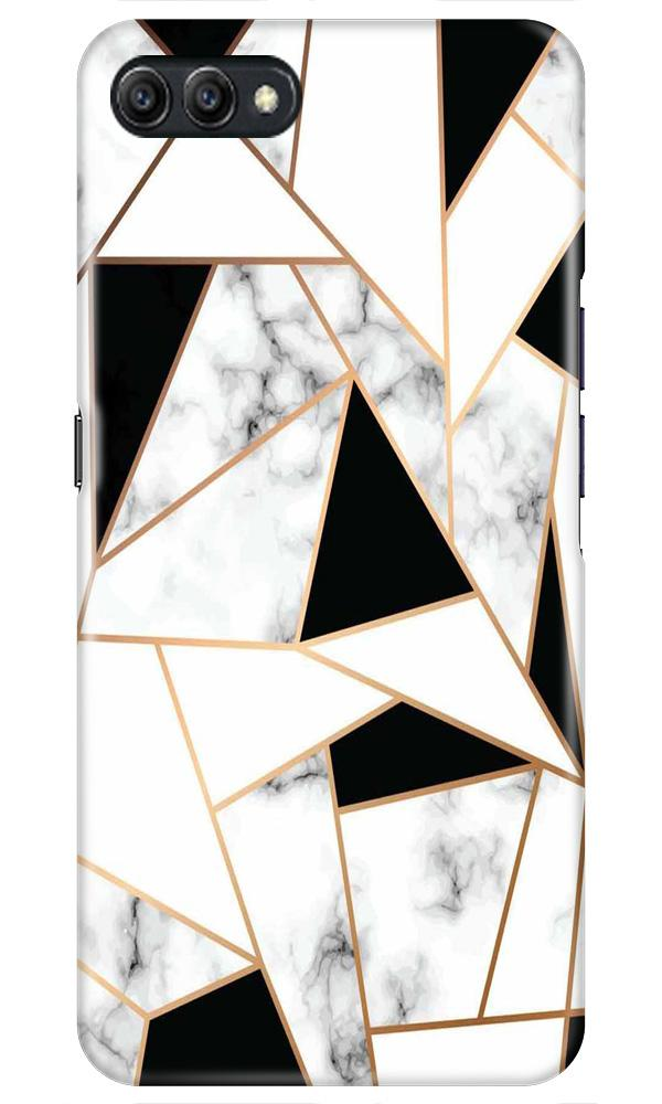 Marble Texture Mobile Back Case for Oppo A3s  (Design - 322)