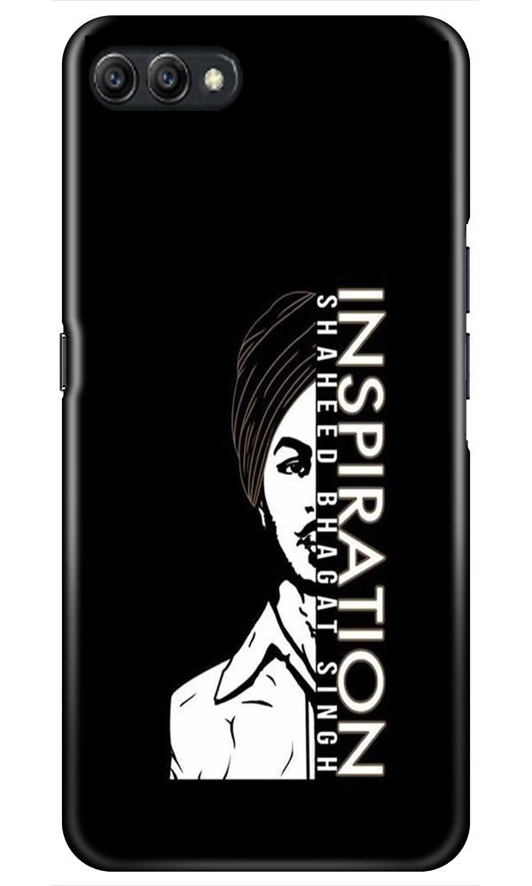 Bhagat Singh Mobile Back Case for Oppo A3s  (Design - 329)