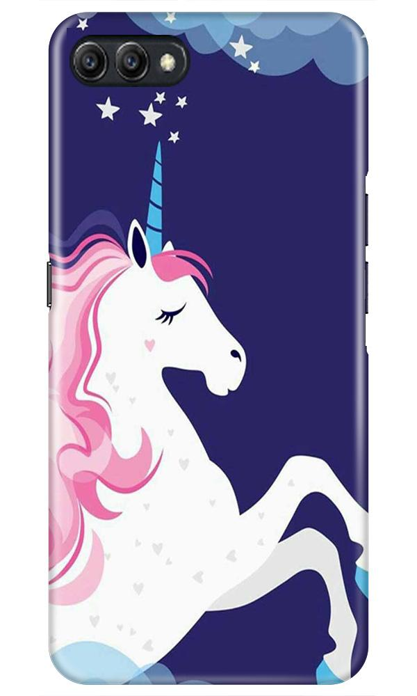 Unicorn Mobile Back Case for Oppo A3s  (Design - 365)