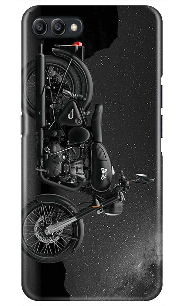Royal Enfield Mobile Back Case for Oppo A3s  (Design - 381)