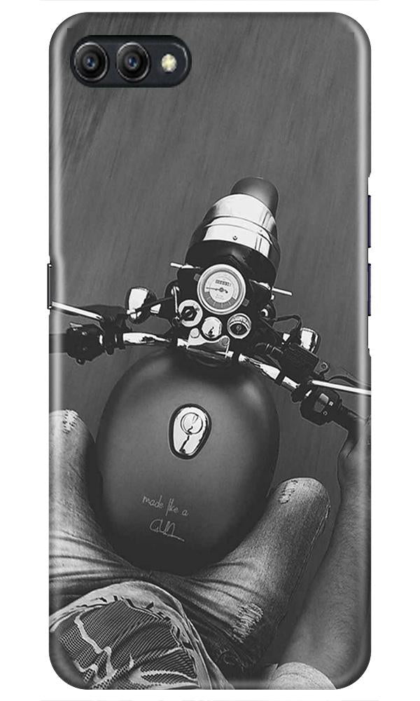 Royal Enfield Mobile Back Case for Oppo A3s  (Design - 382)