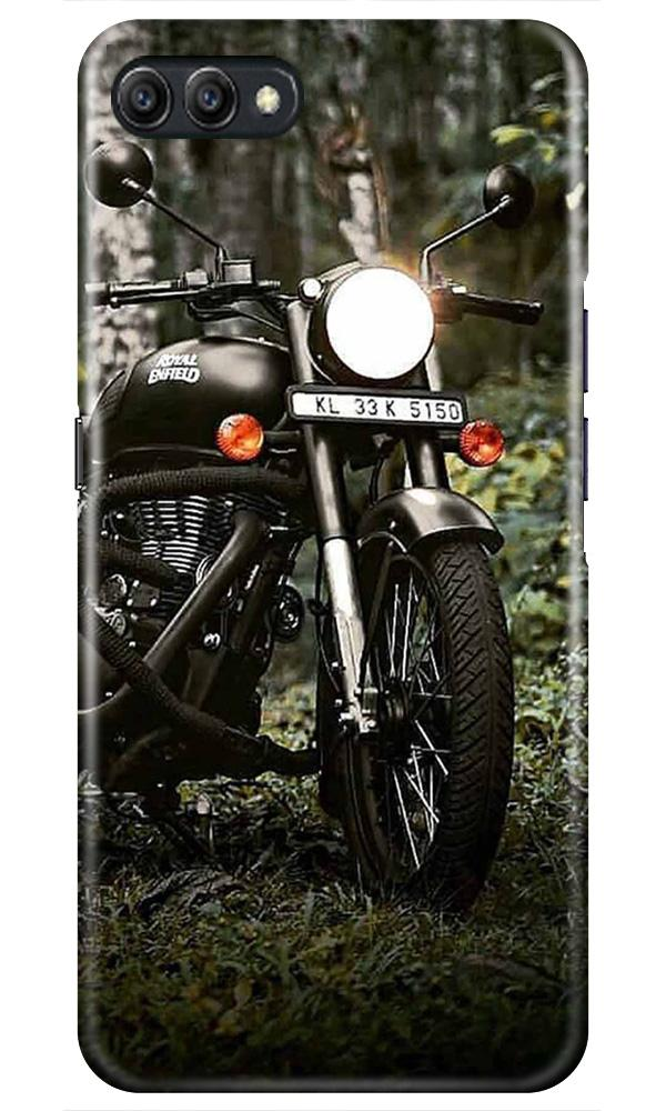 Royal Enfield Mobile Back Case for Oppo A3s  (Design - 384)