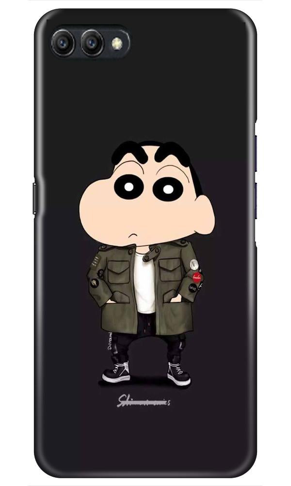Shin Chan Mobile Back Case for Oppo A3s  (Design - 391)