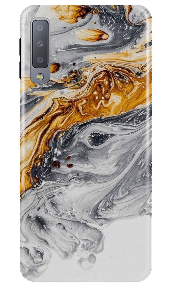 Marble Texture Mobile Back Case for Samsung A50 (Design - 310)