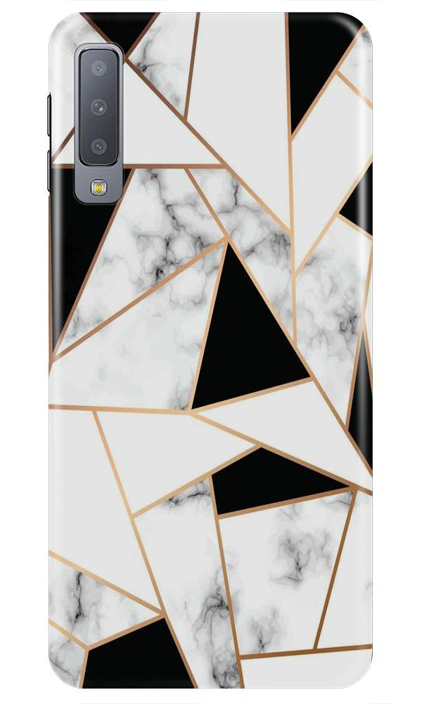 Marble Texture Mobile Back Case for Samsung A50 (Design - 322)