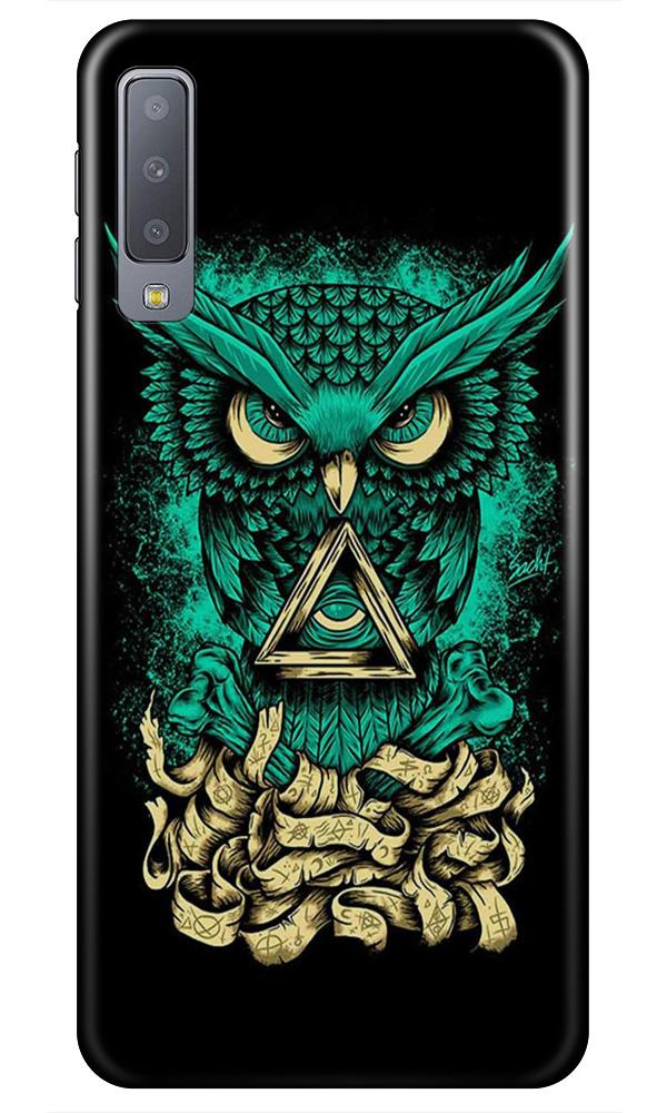 Owl Mobile Back Case for Samsung Galaxy A50s  (Design - 358)