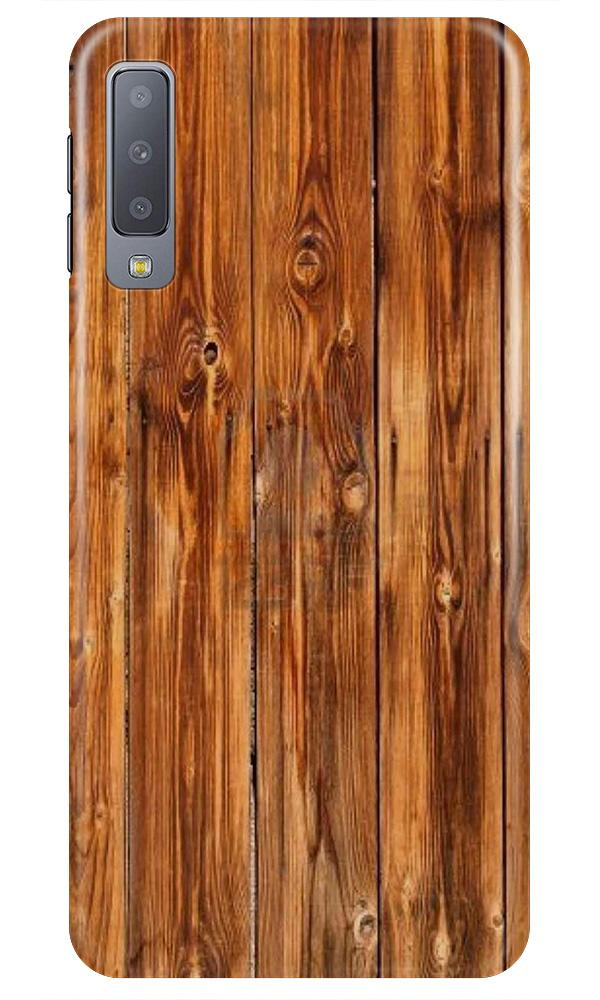 Wooden Texture Mobile Back Case for Samsung A50 (Design - 376)