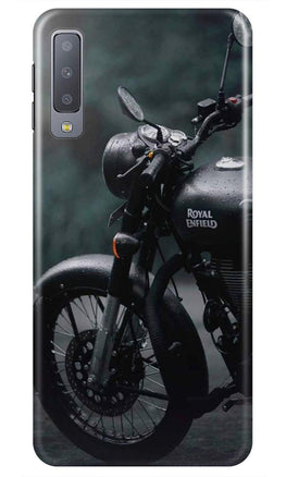 Royal Enfield Mobile Back Case for Samsung Galaxy A50s  (Design - 380)