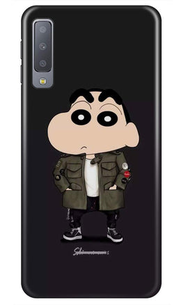 Shin Chan Mobile Back Case for Samsung Galaxy A50s  (Design - 391)