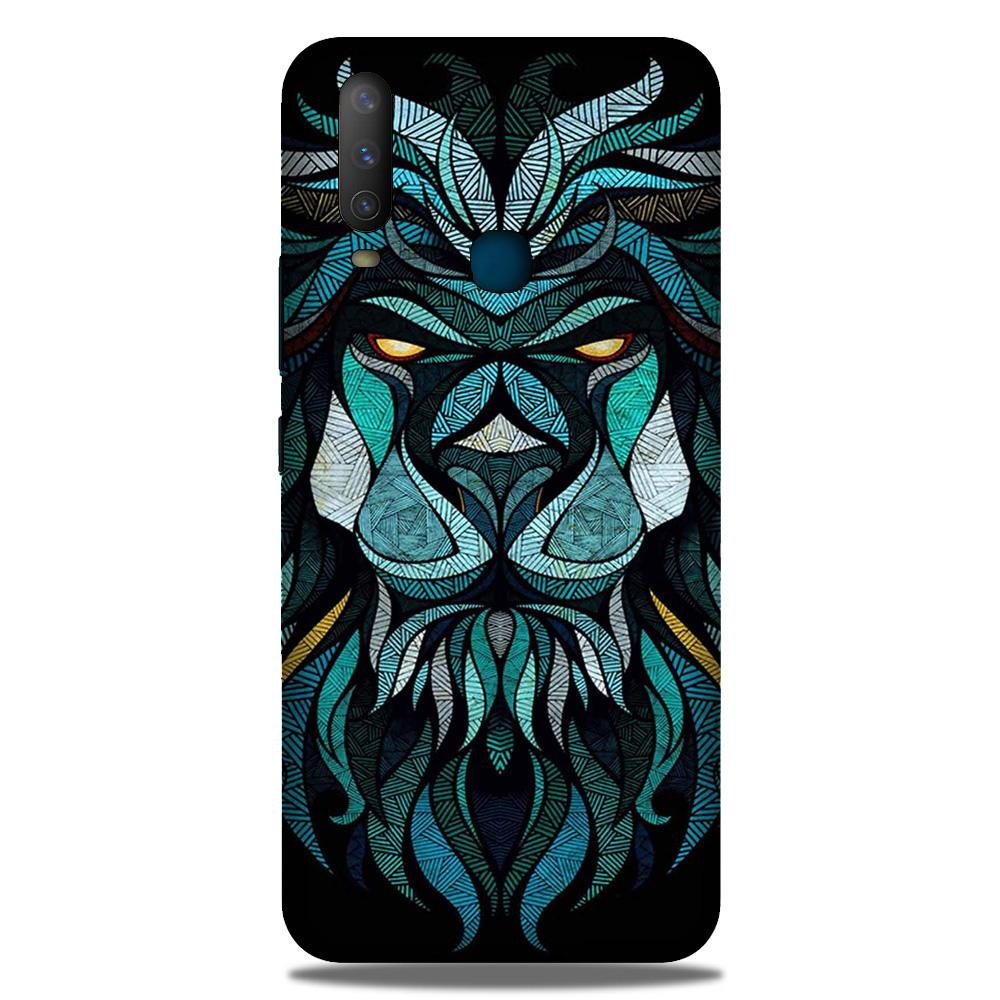 Lion Mobile Back Case for Samsung Galaxy M30 (Design - 314)