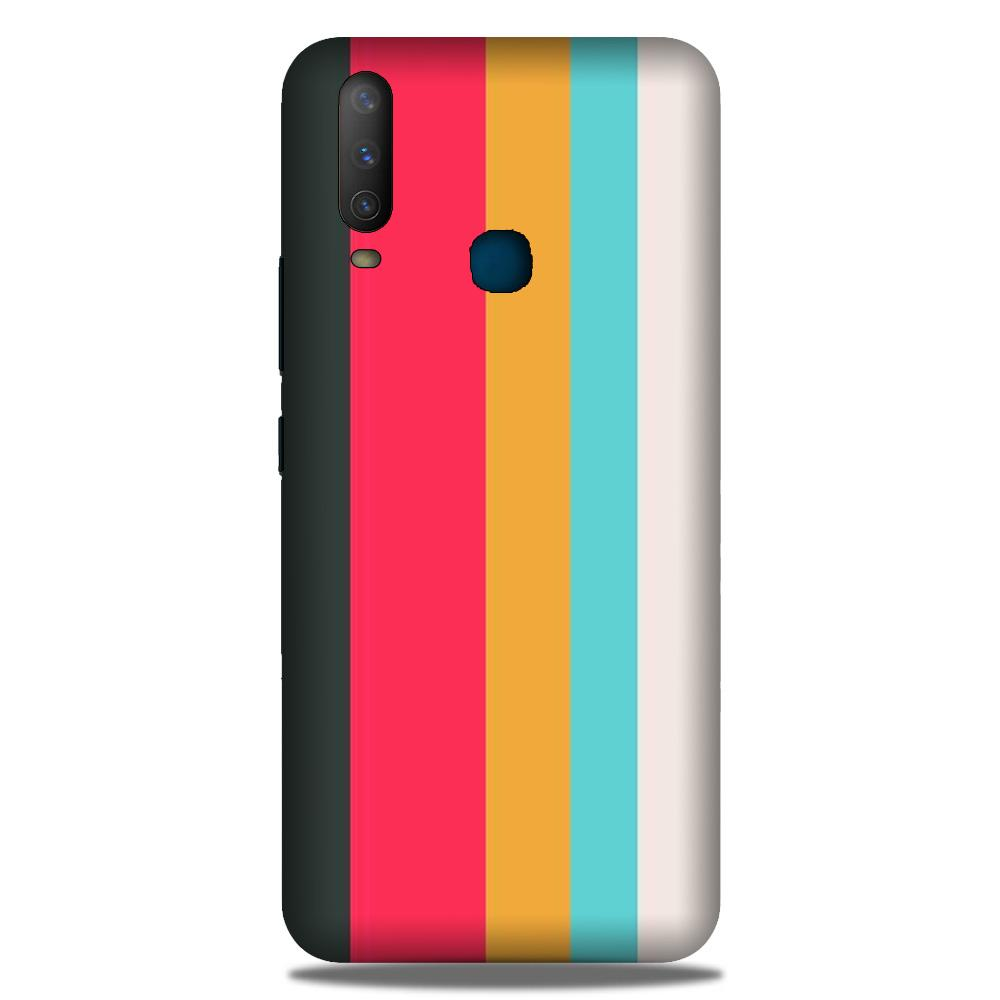 Color Pattern Mobile Back Case for Samsung Galaxy M30 (Design - 369)