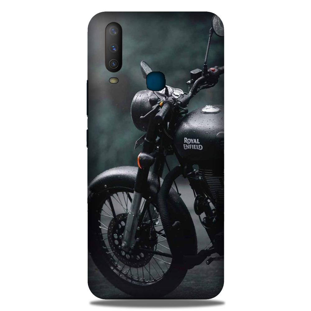 Royal Enfield Mobile Back Case for Samsung Galaxy M30 (Design - 380)