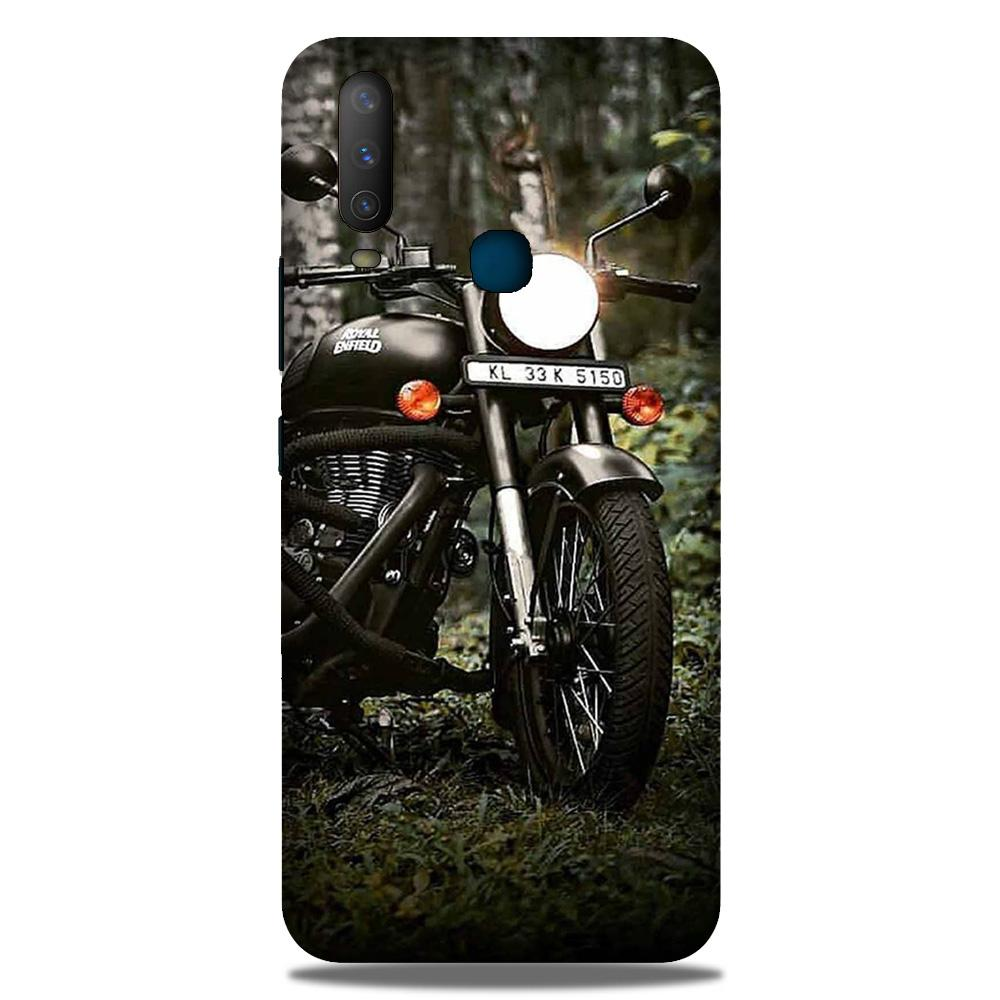 Royal Enfield Mobile Back Case for Samsung Galaxy M30 (Design - 384)