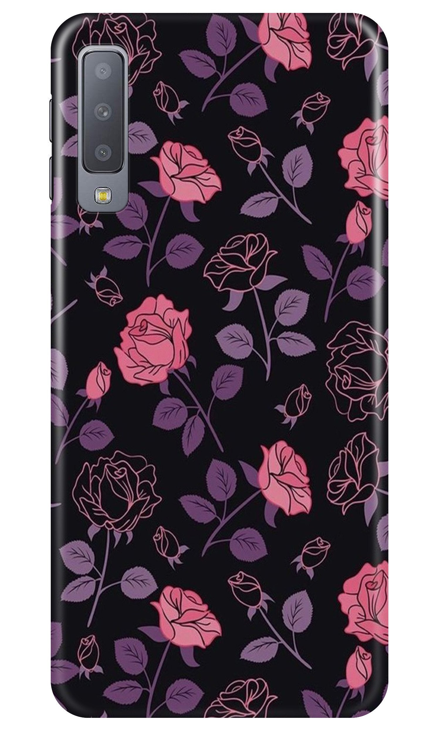 Rose Pattern Case for Samsung A50