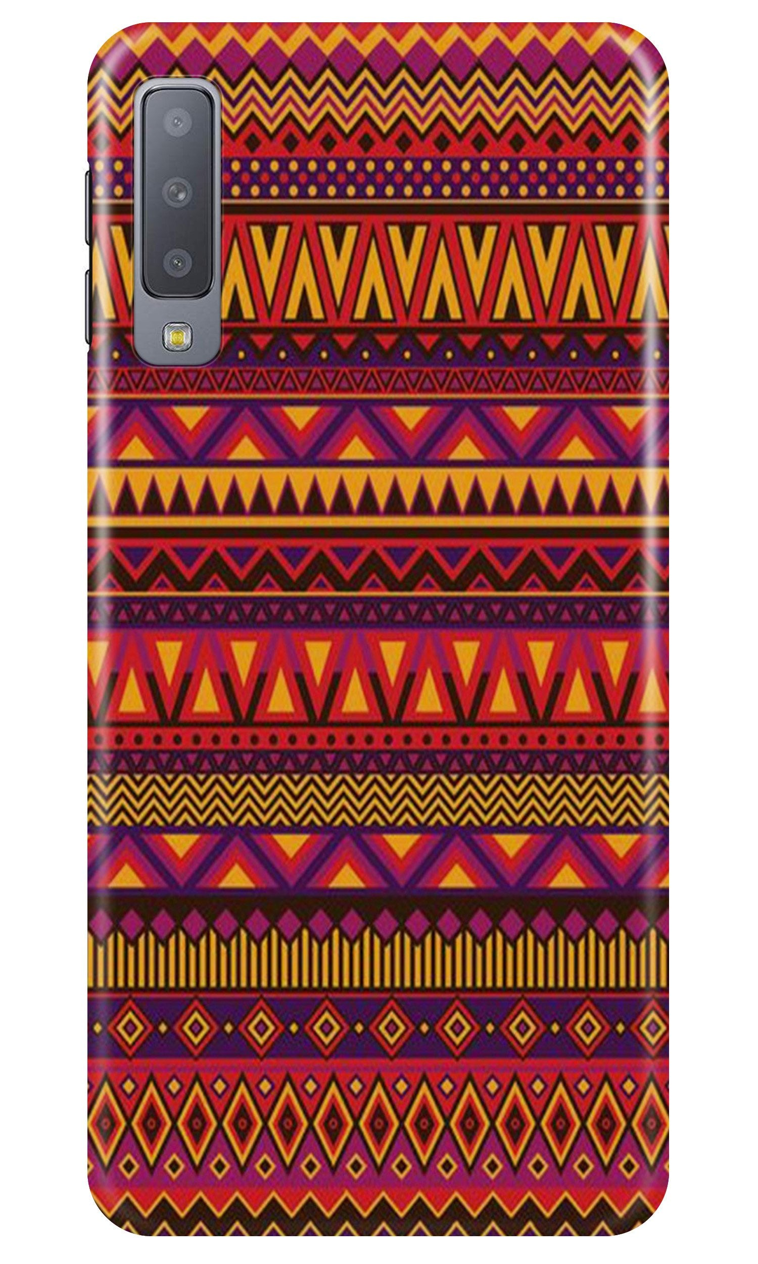 Zigzag line pattern2 Case for Samsung A50