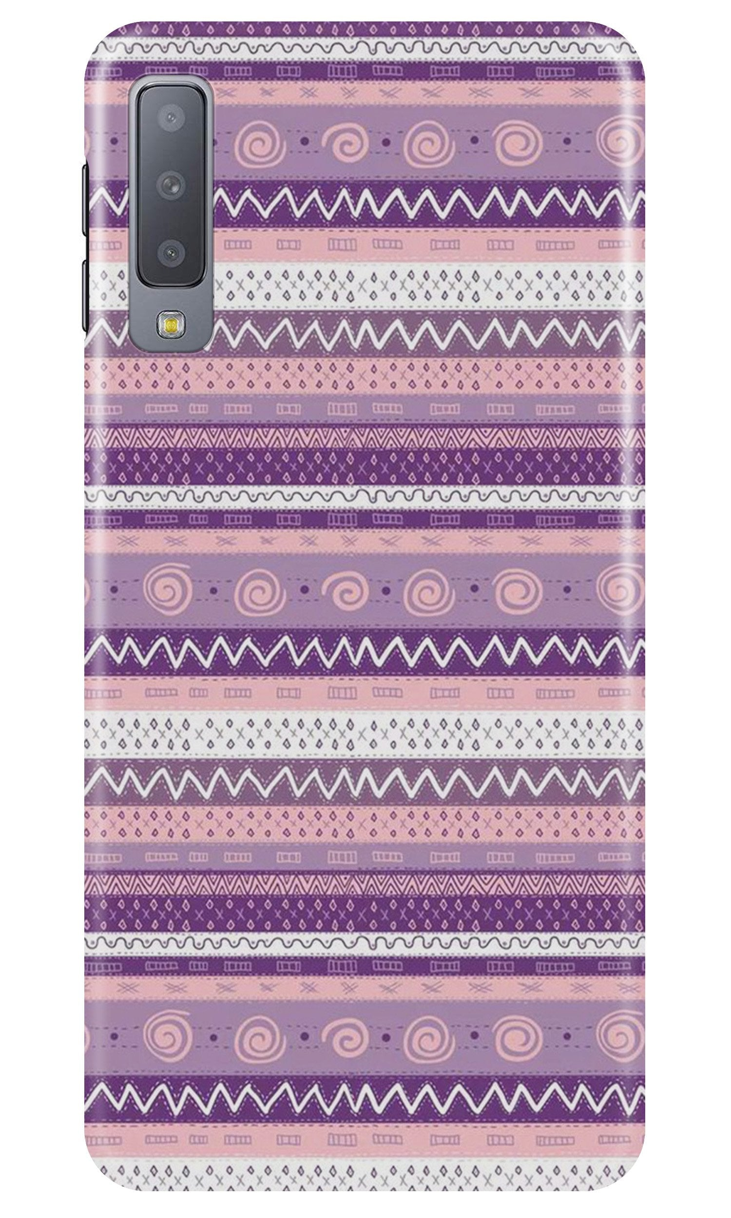 Zigzag line pattern3 Case for Samsung A50