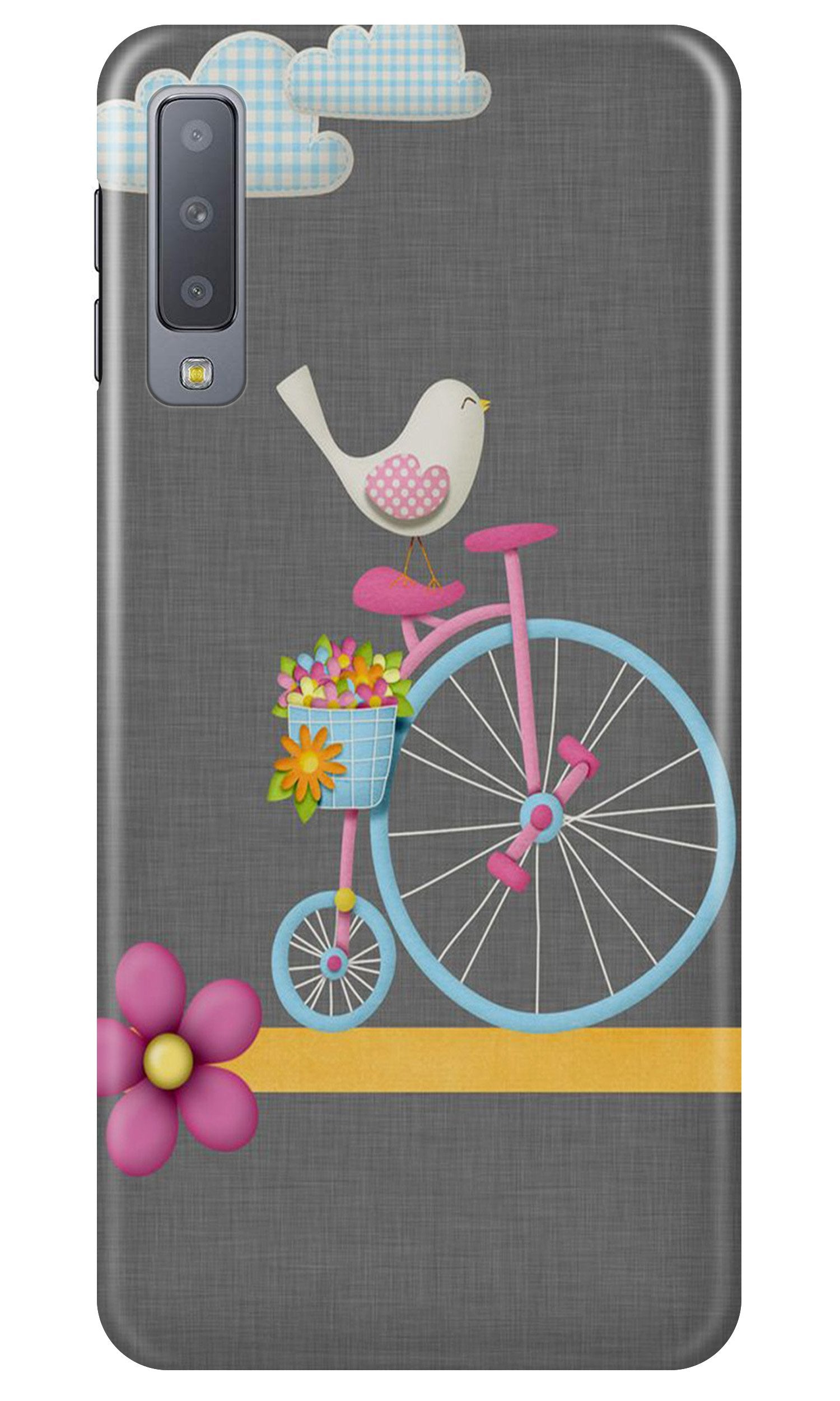 Sparron with cycle Case for Samsung A50