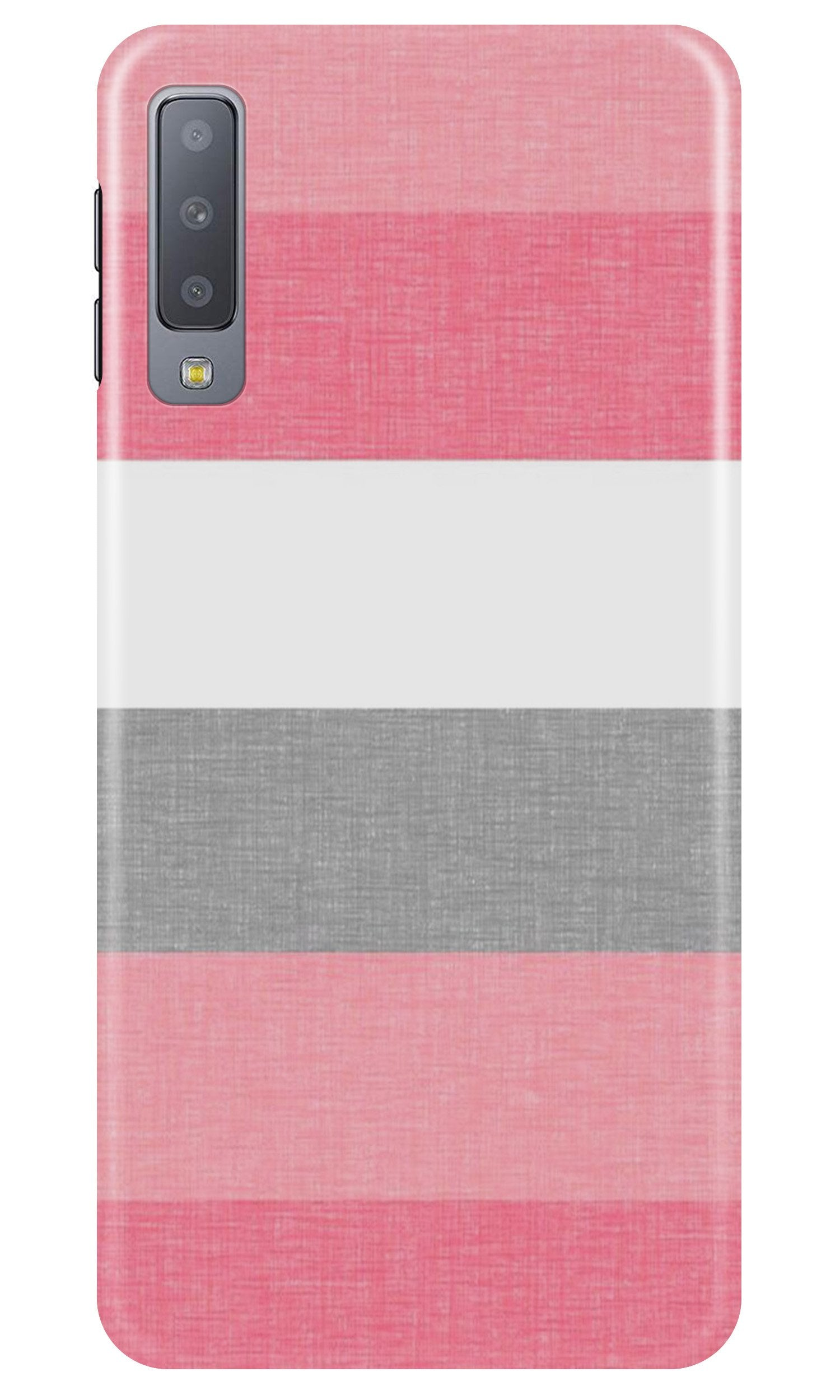 Pink white pattern Case for Samsung A50