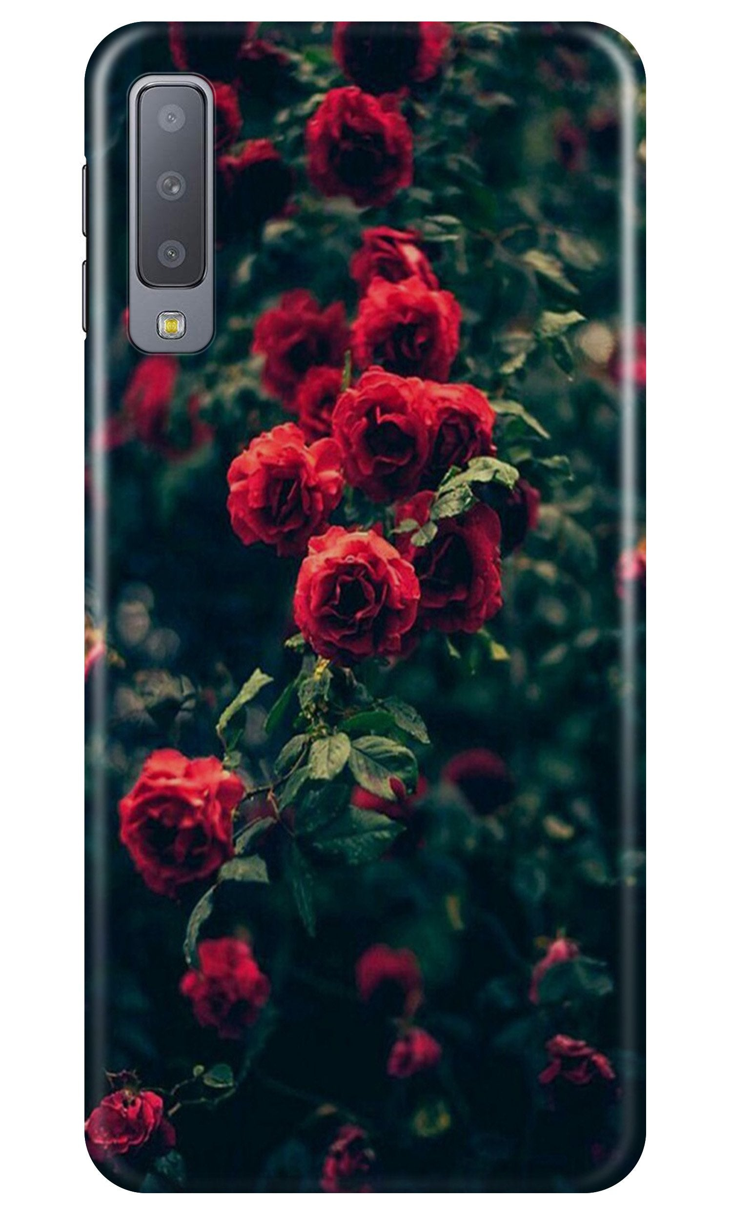 Red Rose Case for Samsung A50