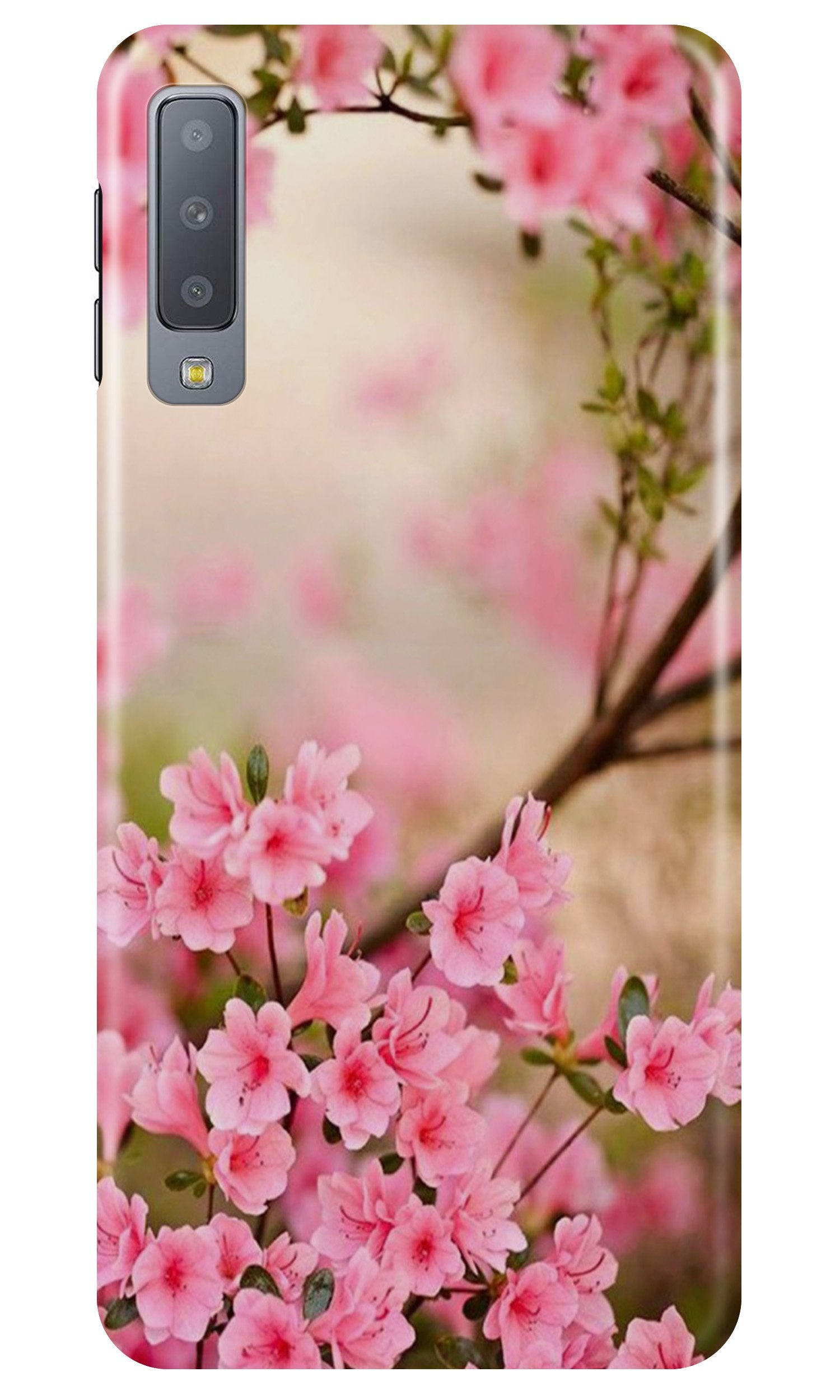 Pink flowers Case for Samsung A50