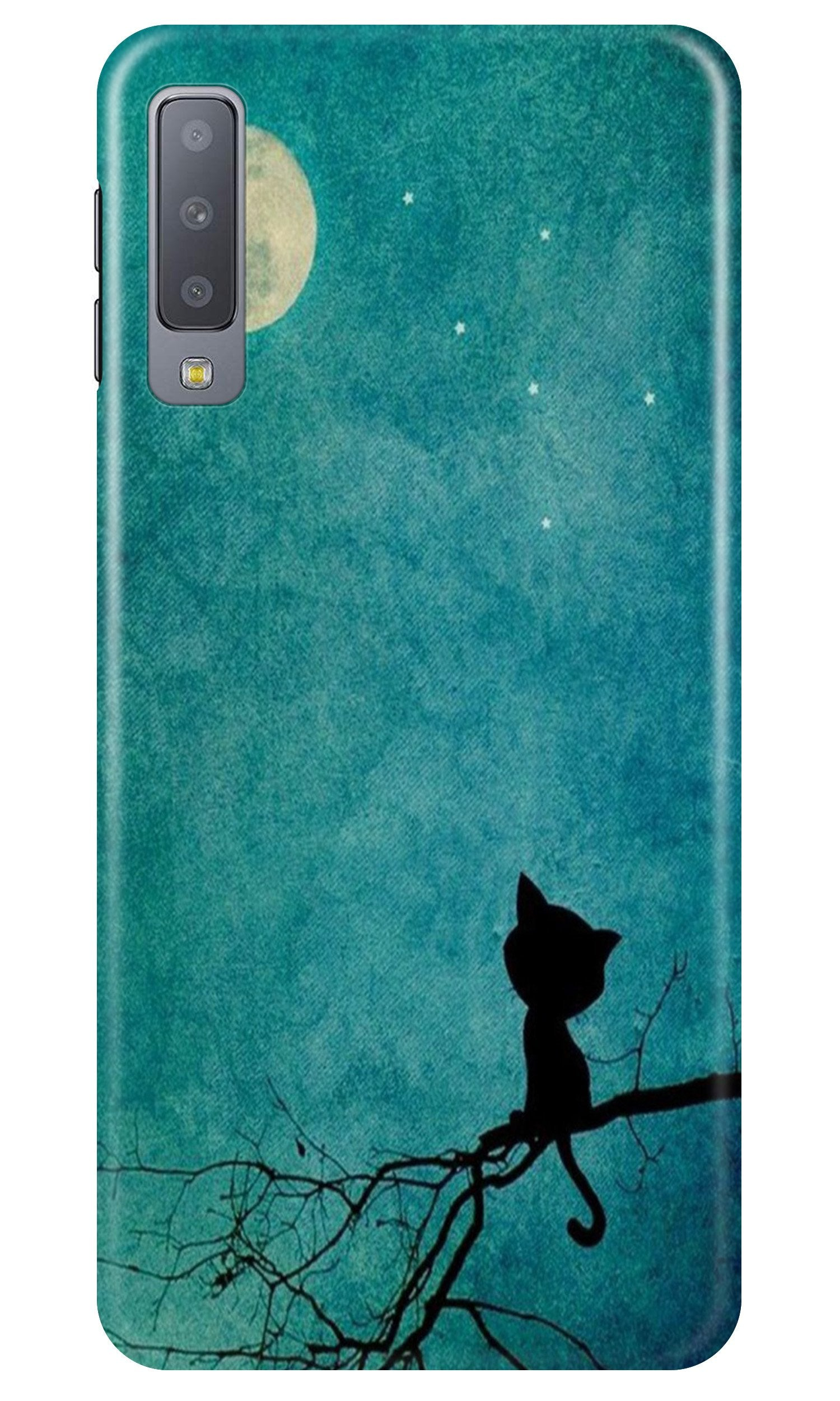 Moon cat Case for Samsung A50