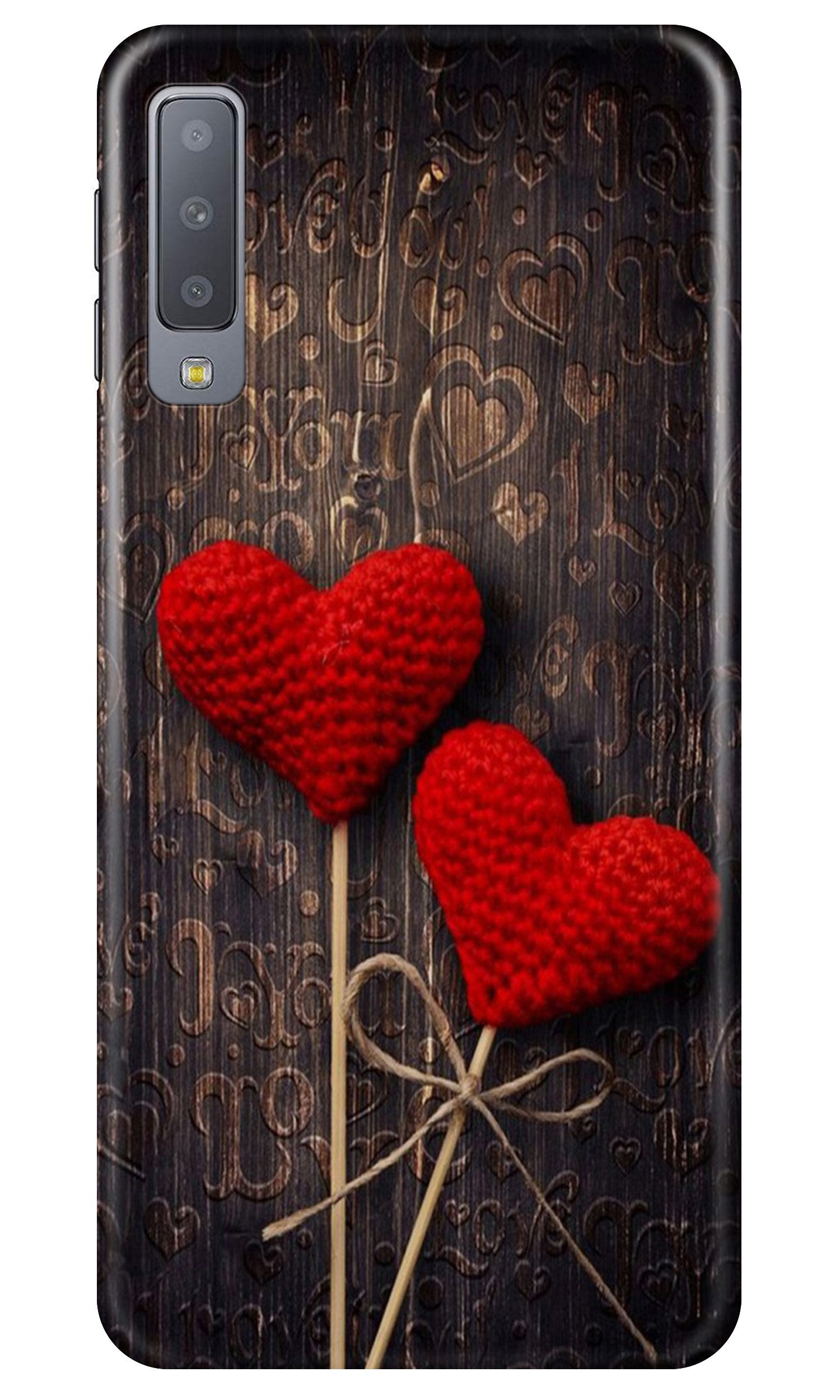 Red Hearts Case for Samsung A50