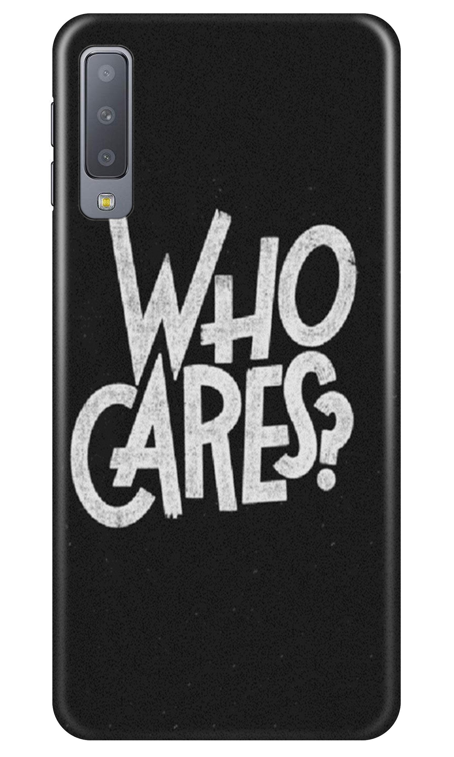 Who Cares Case for Samsung A50