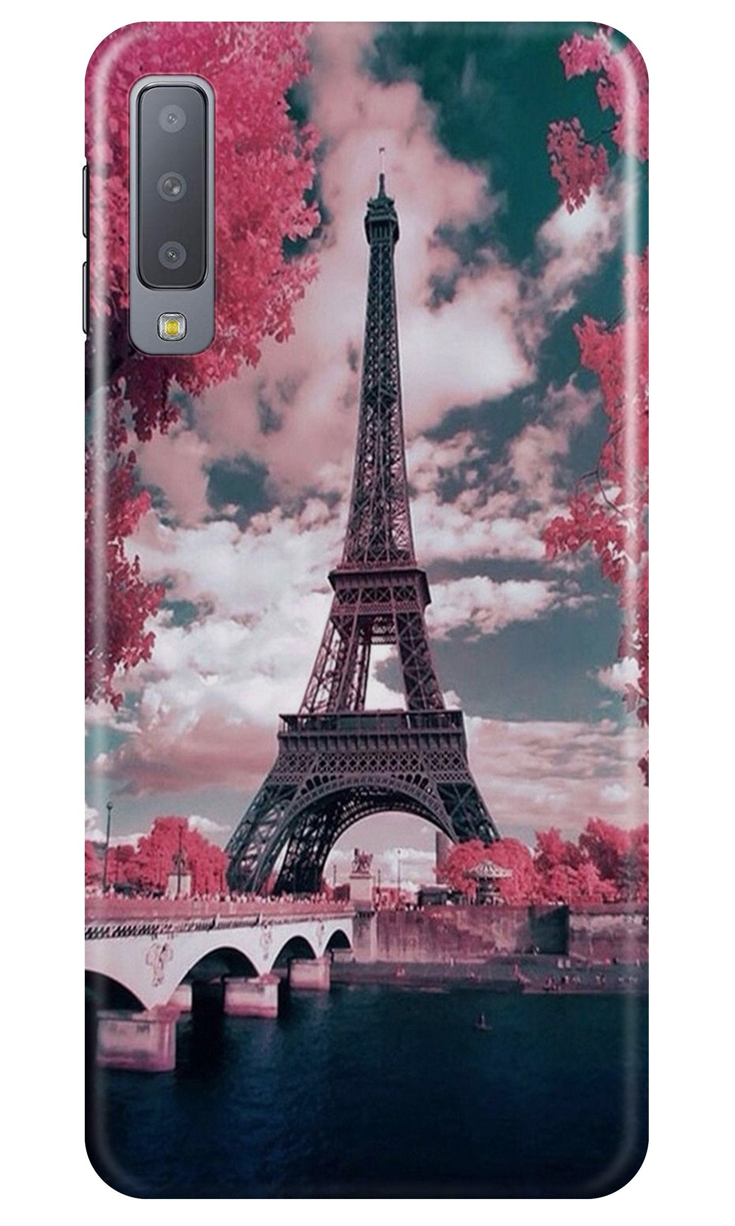Eiffel Tower Case for Samsung A50  (Design - 101)