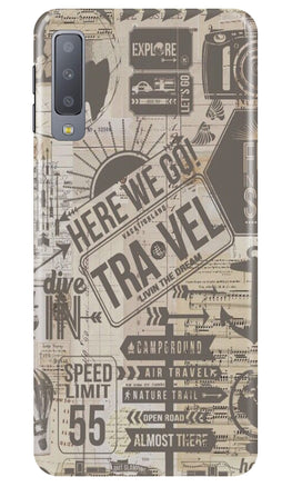 Travel Case for Samsung Galaxy A70  (Design - 104)