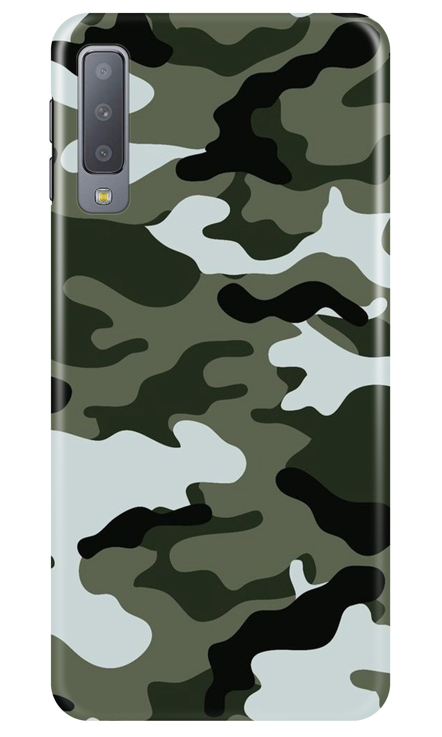 Army Camouflage Case for Samsung A50  (Design - 108)