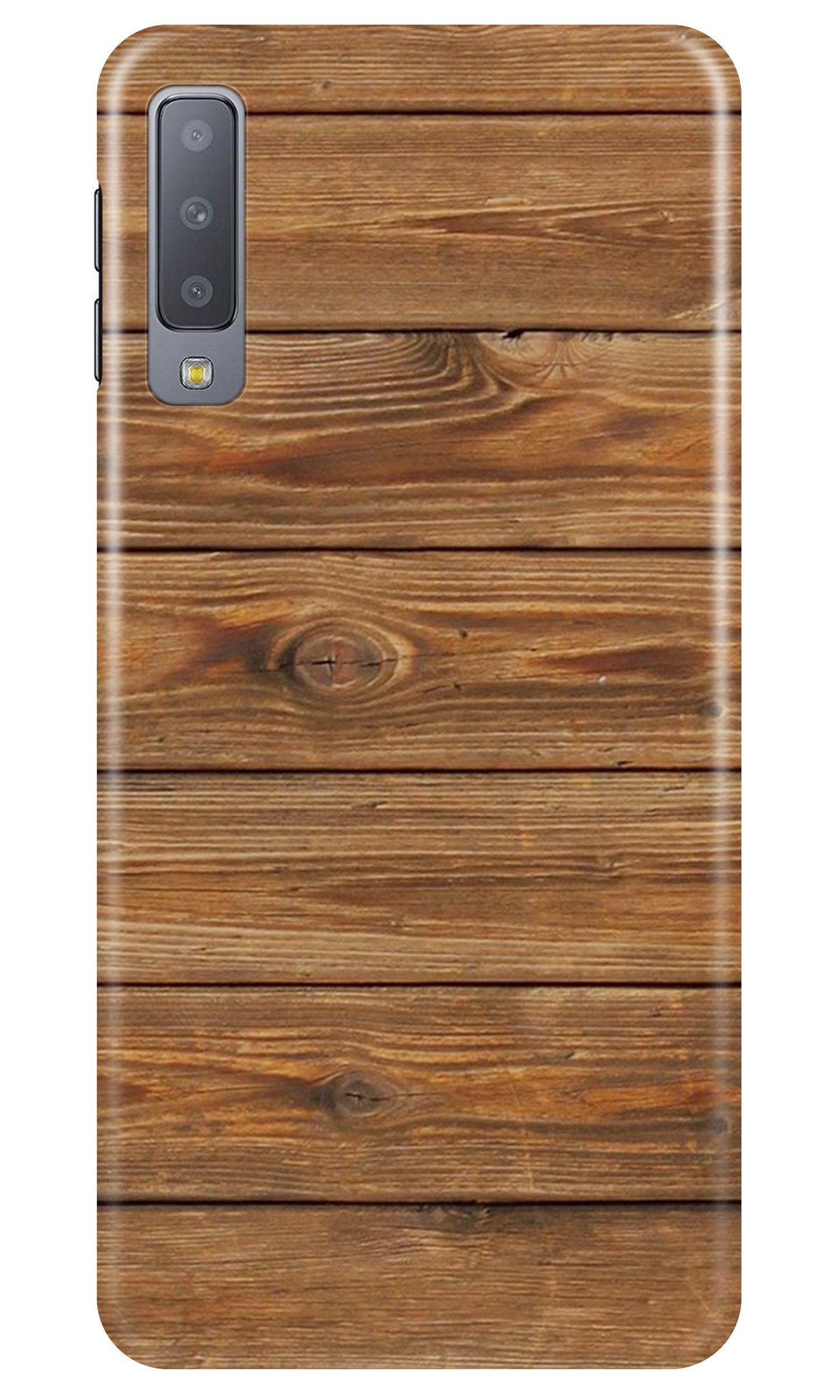 Wooden Look Case for Samsung A50  (Design - 113)