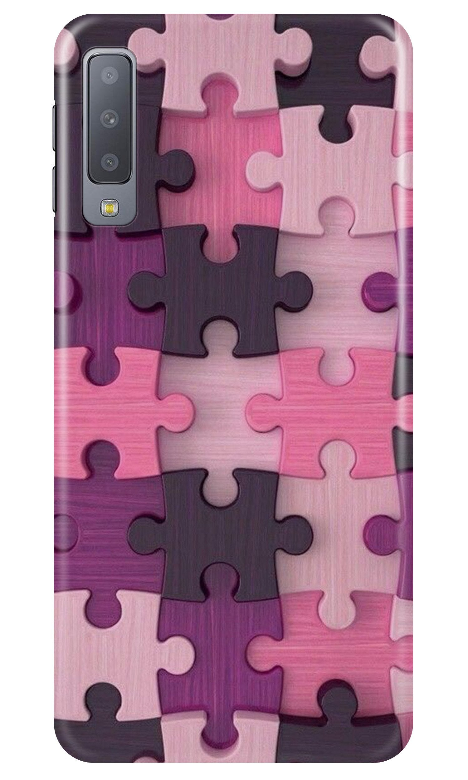 Puzzle Case for Samsung A50 (Design - 199)