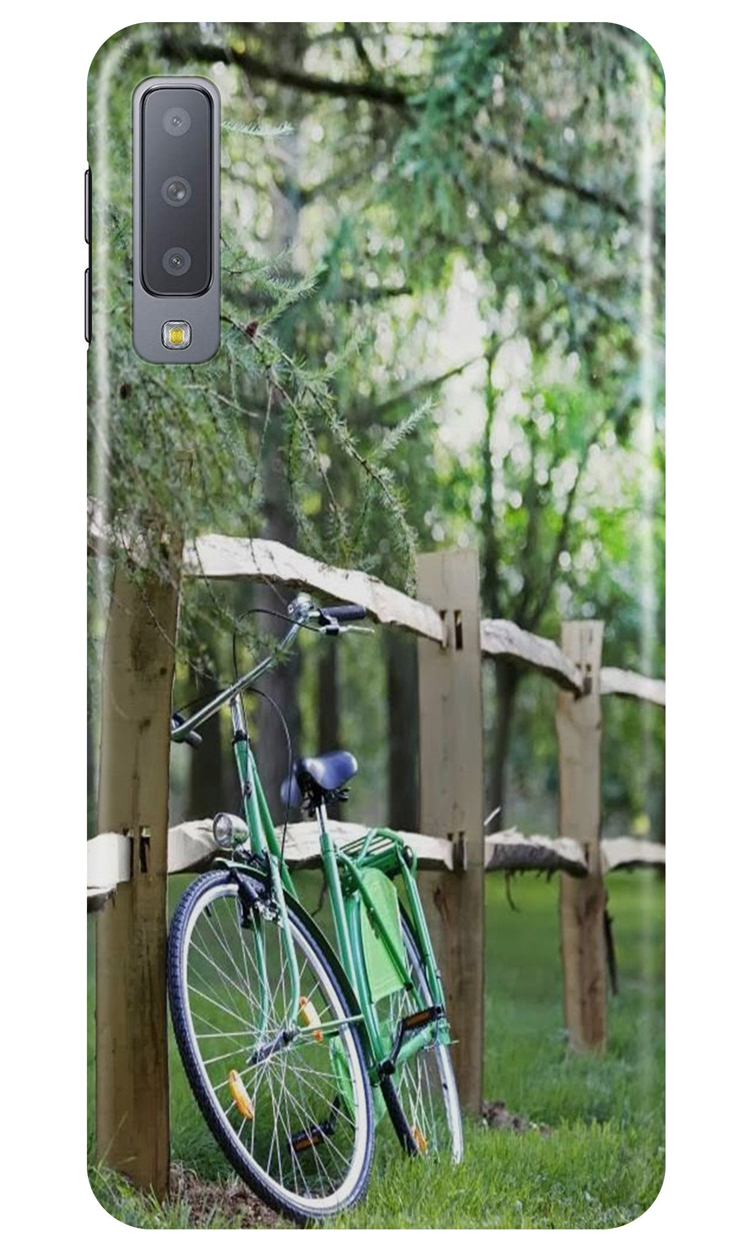 Bicycle Case for Samsung Galaxy A70 (Design No. 208)