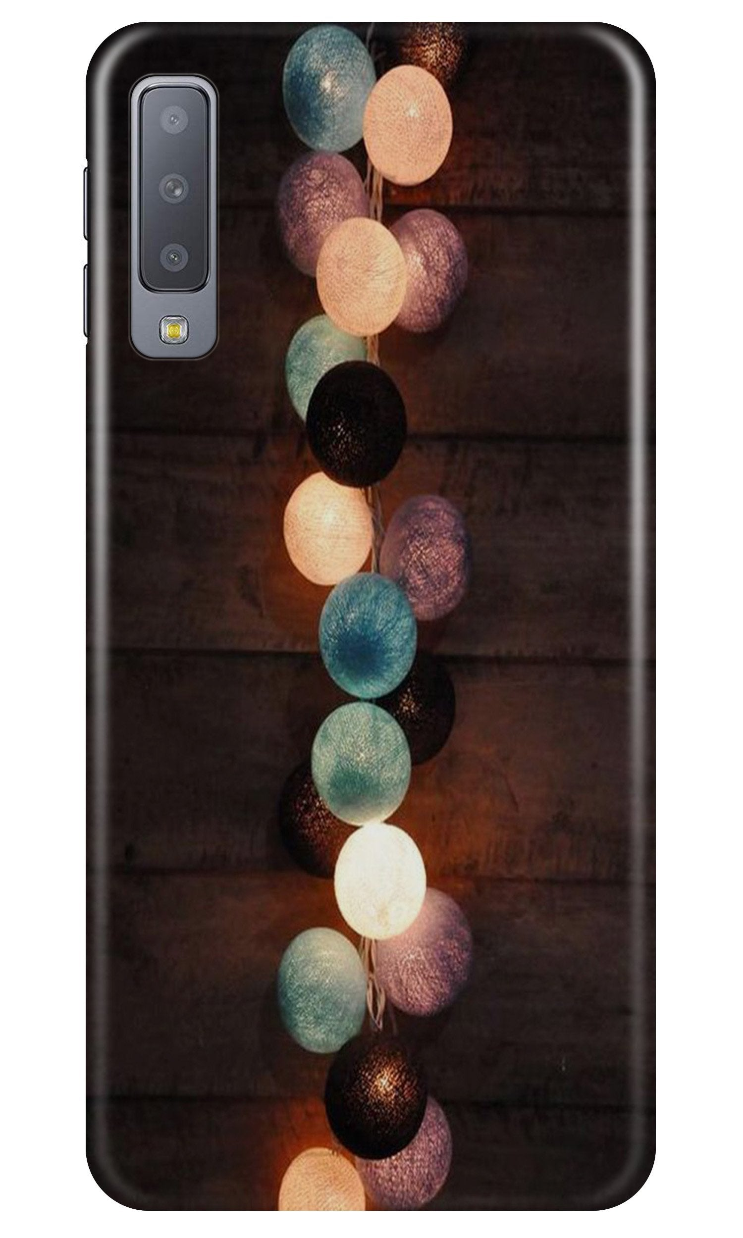 Party Lights Case for Samsung Galaxy A7 2018 (Design No. 209)