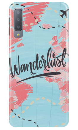 Wonderlust Travel Case for Samsung Galaxy A70 (Design No. 223)