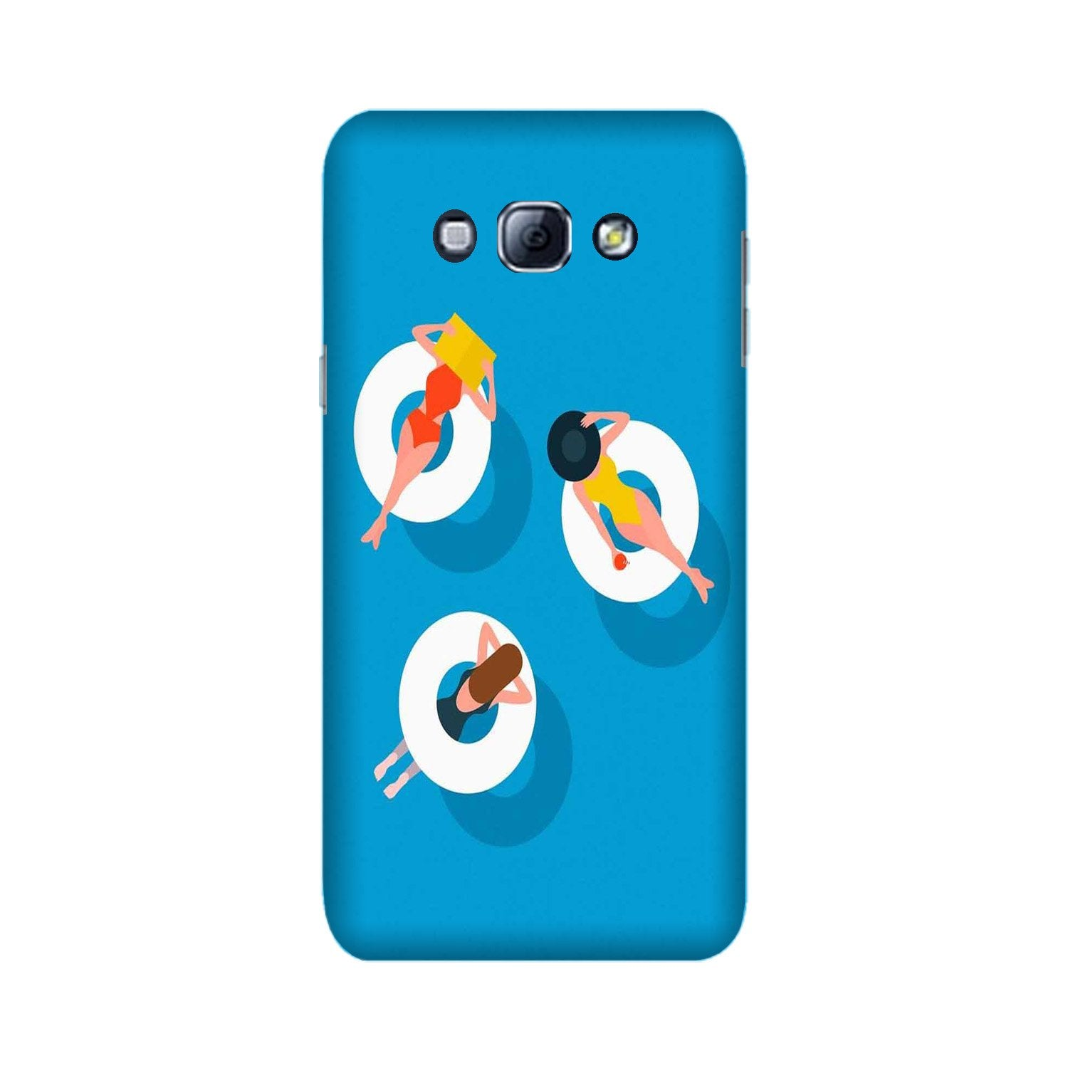 Girlish Mobile Back Case for Galaxy A8 (2015)  (Design - 306)