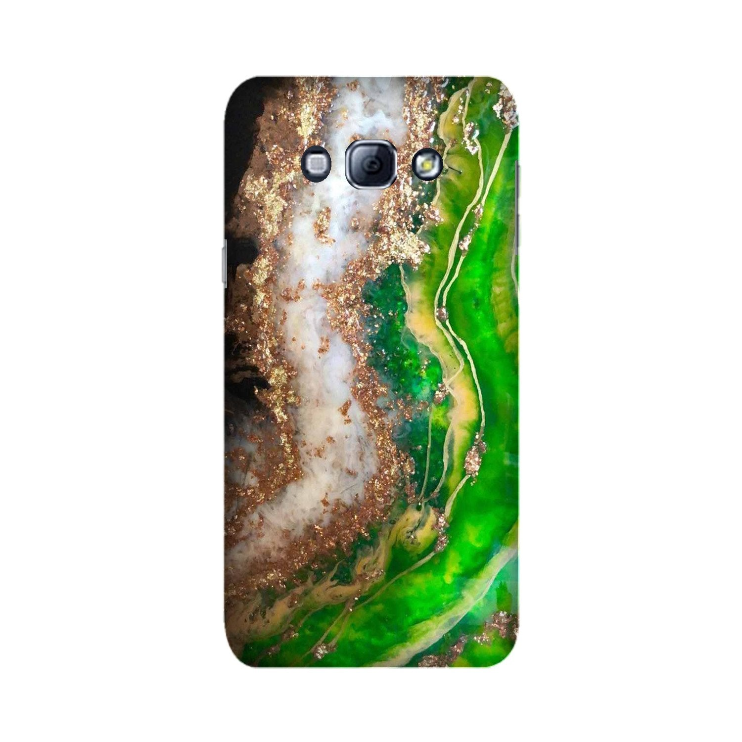 Marble Texture Mobile Back Case for Galaxy A8 (2015)  (Design - 307)