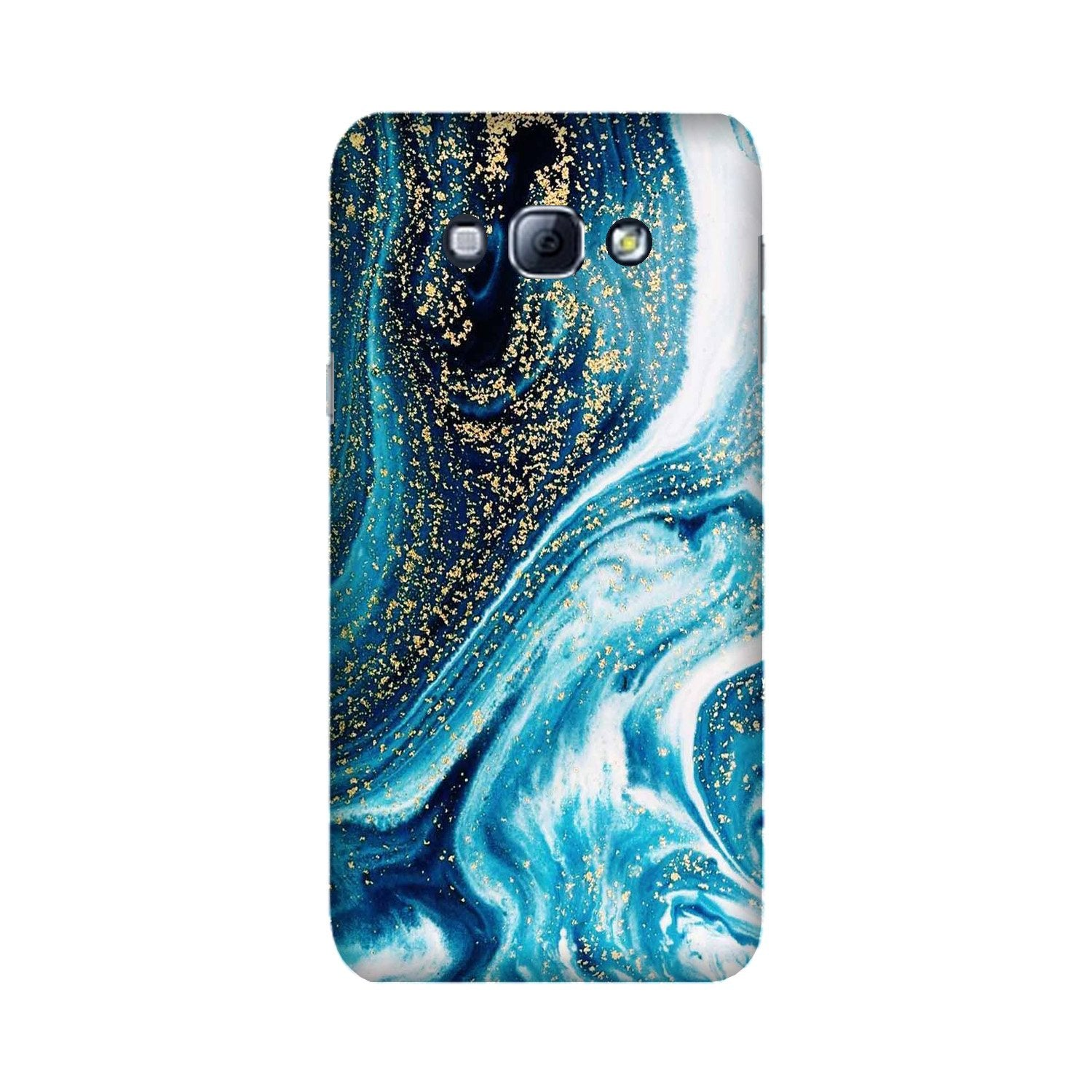 Marble Texture Mobile Back Case for Galaxy A8 (2015)  (Design - 308)