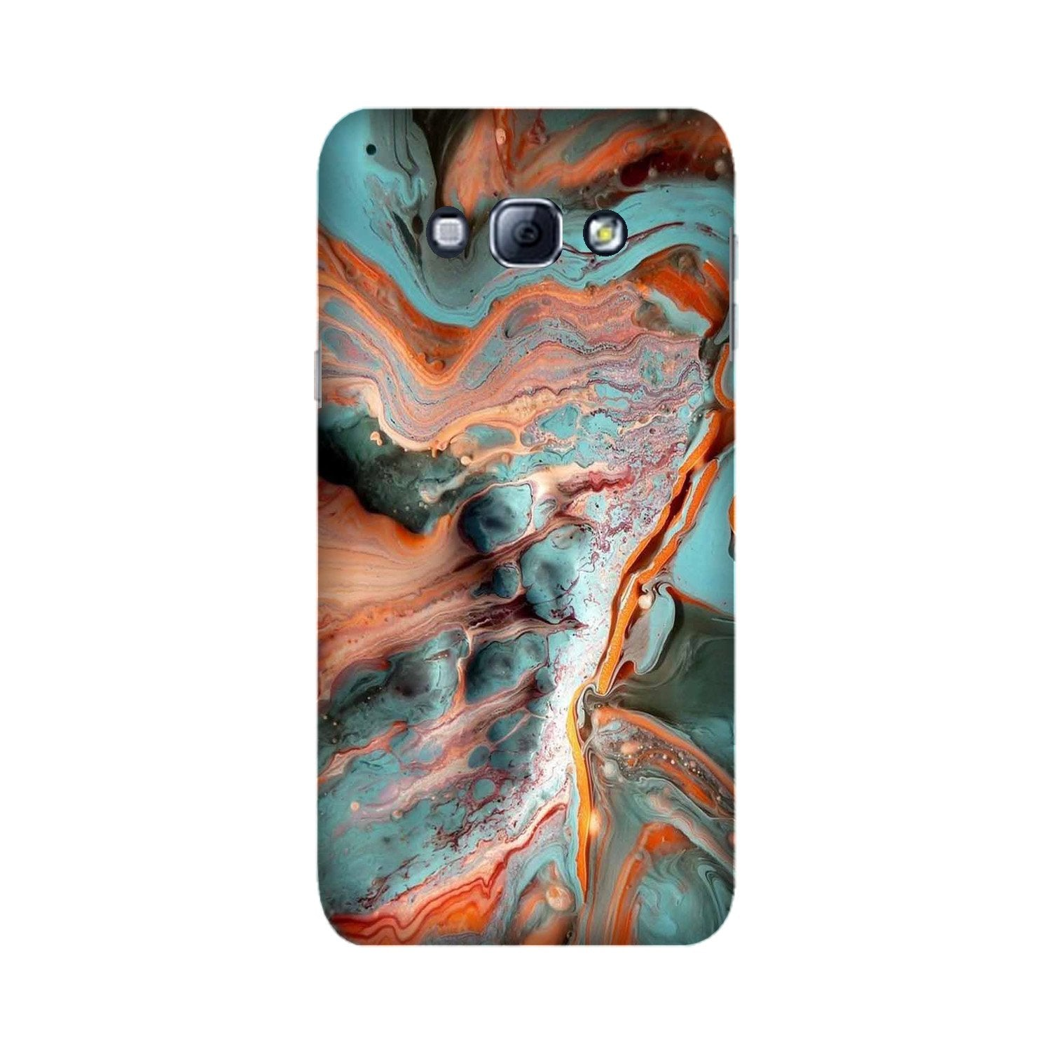 Marble Texture Mobile Back Case for Galaxy A8 (2015)  (Design - 309)