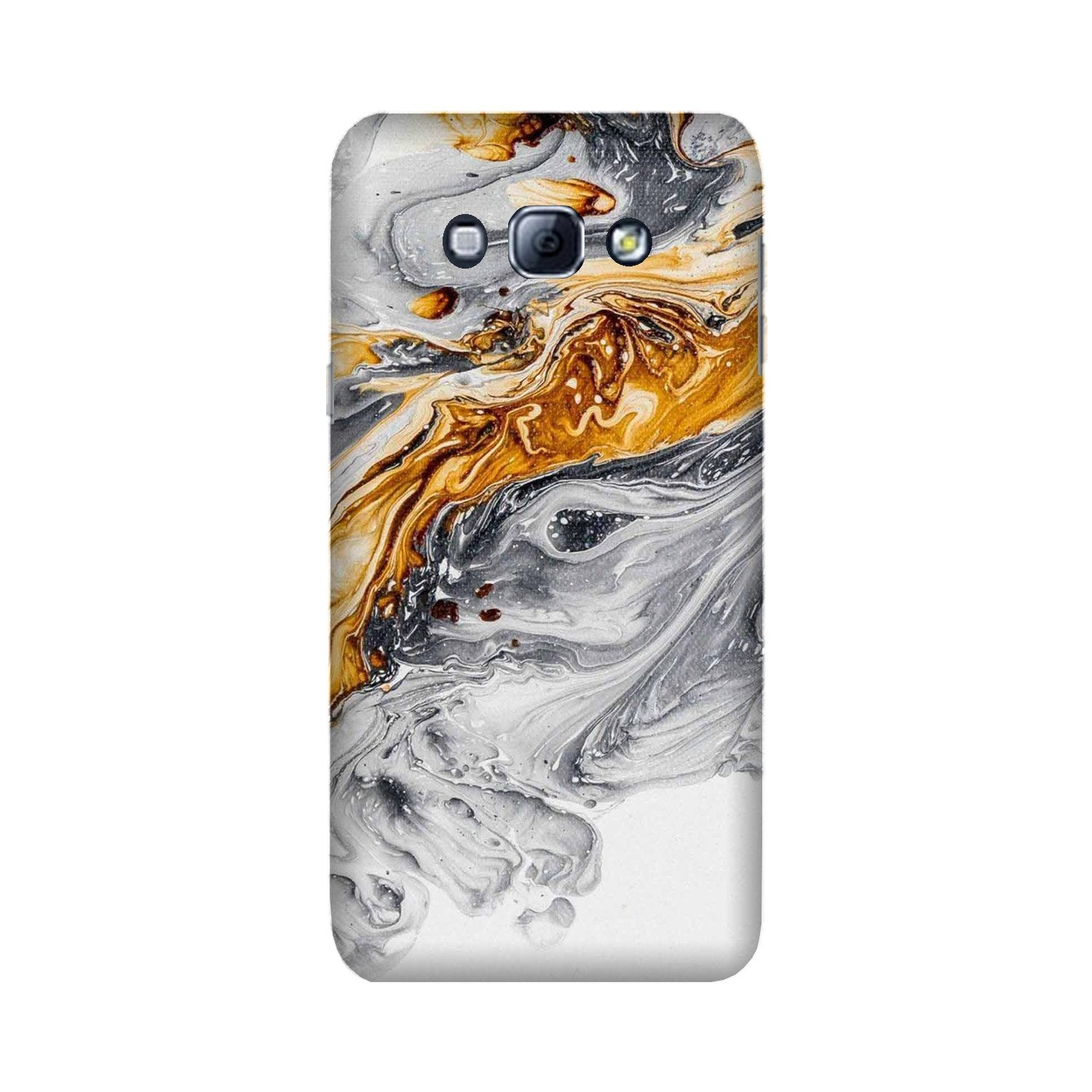 Marble Texture Mobile Back Case for Galaxy A8 (2015)  (Design - 310)