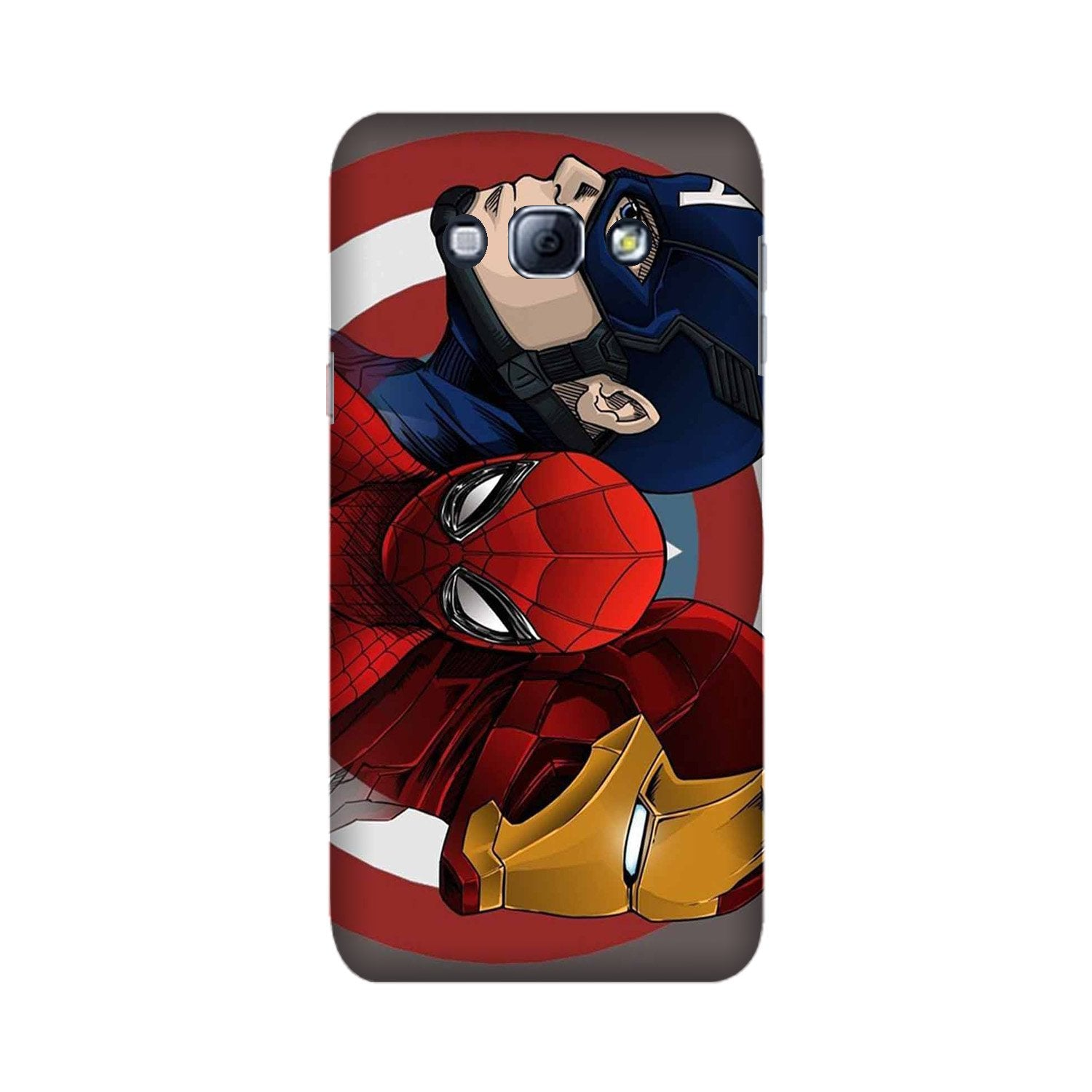 Superhero Mobile Back Case for Galaxy A8 (2015)  (Design - 311)
